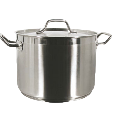Thunder Group SLSPS008 8Qt Induction Stock Pot, Stainless Steel