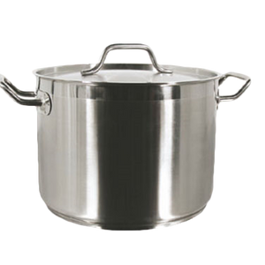 Thunder SLSPS080 Stainless Steel, Induction Stock Pot 80qt