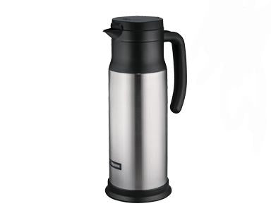 Zojirushi SH-MAE10 Stainless Vacuum Creamer / Dairy Server, Capacity 34 oz. / 1.0 liter, Cold Retention** 41°F (5°C) for 4 hrs.