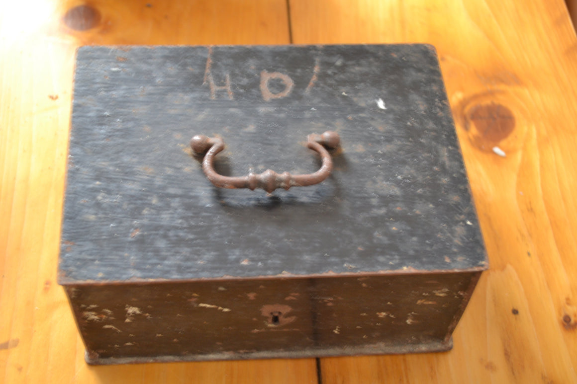 Black Iron Keepsake Box