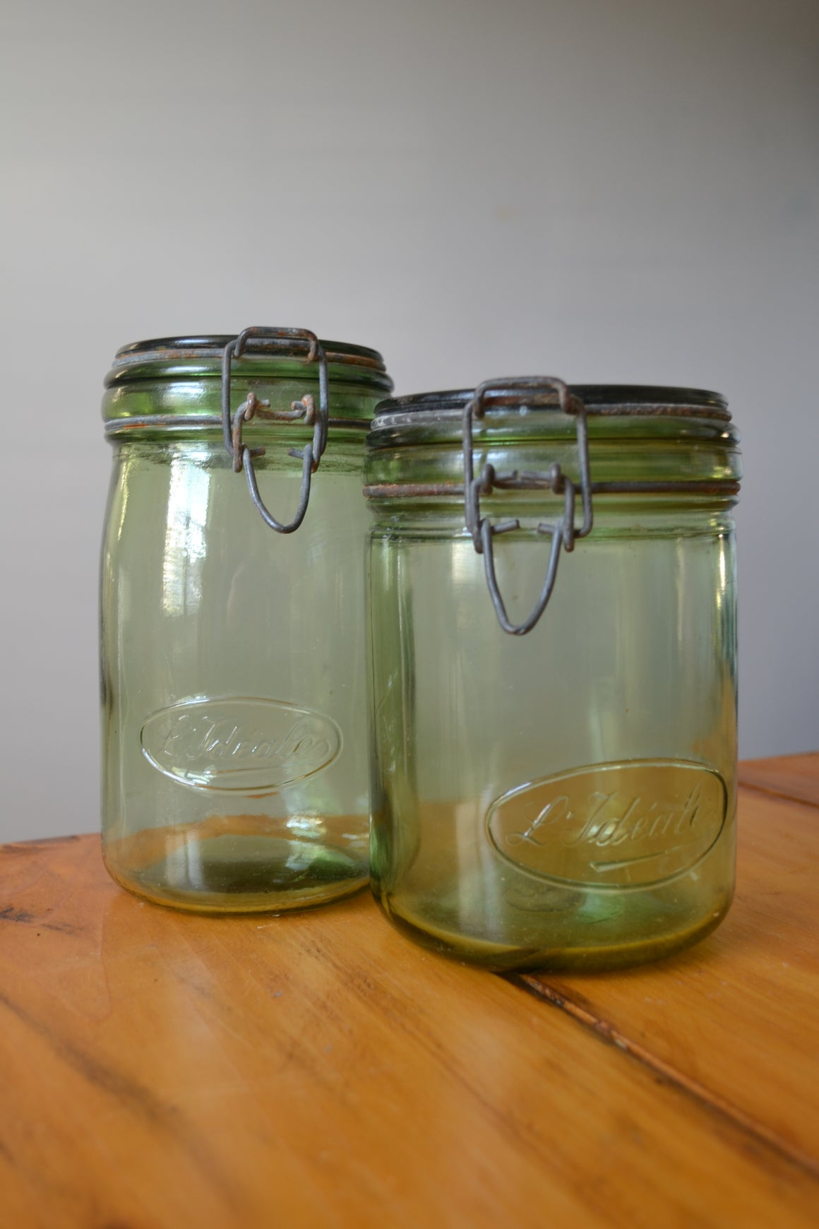L'Ideale Green Preserving Jar