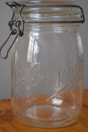 Le Parfait Clear Glass Jar