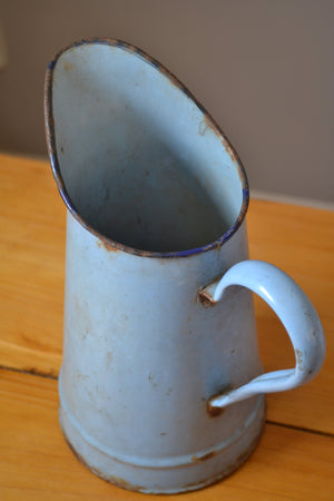 Vintage Blue French Jug