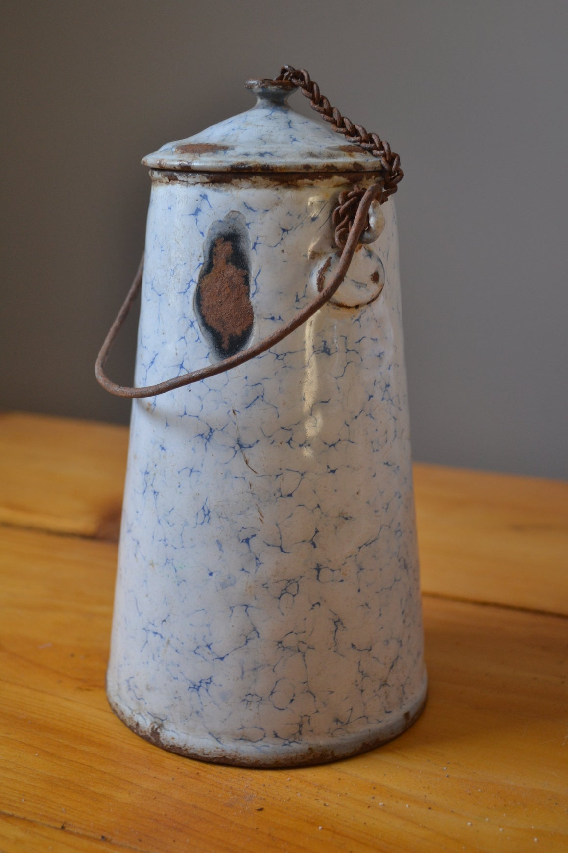 Crackle Glaze Jug / Mini Milk Pitcher