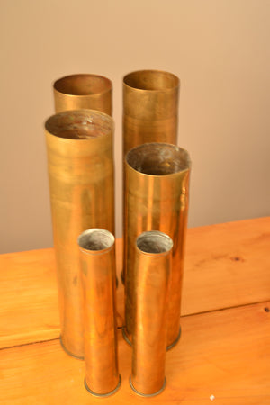 Selection of Medium Brass Shell Casings