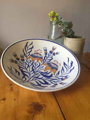 French Vintage Floral Bowl