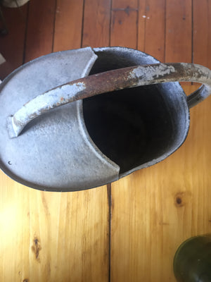 Galvanised Watering Can (Planter)