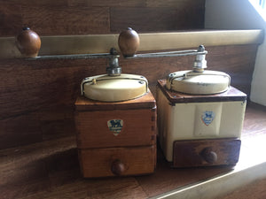 Vintage Cream Body Peugeot Coffee Grinder
