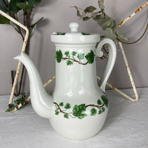 Limoges Frugier Aluminite Porcelain Coffee Pot