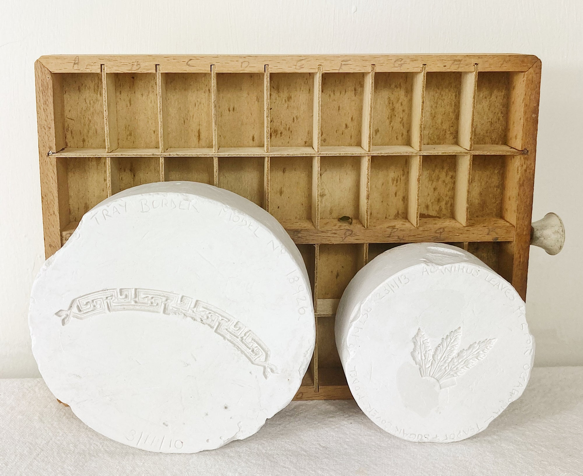 Wedgwood plaster moulds
