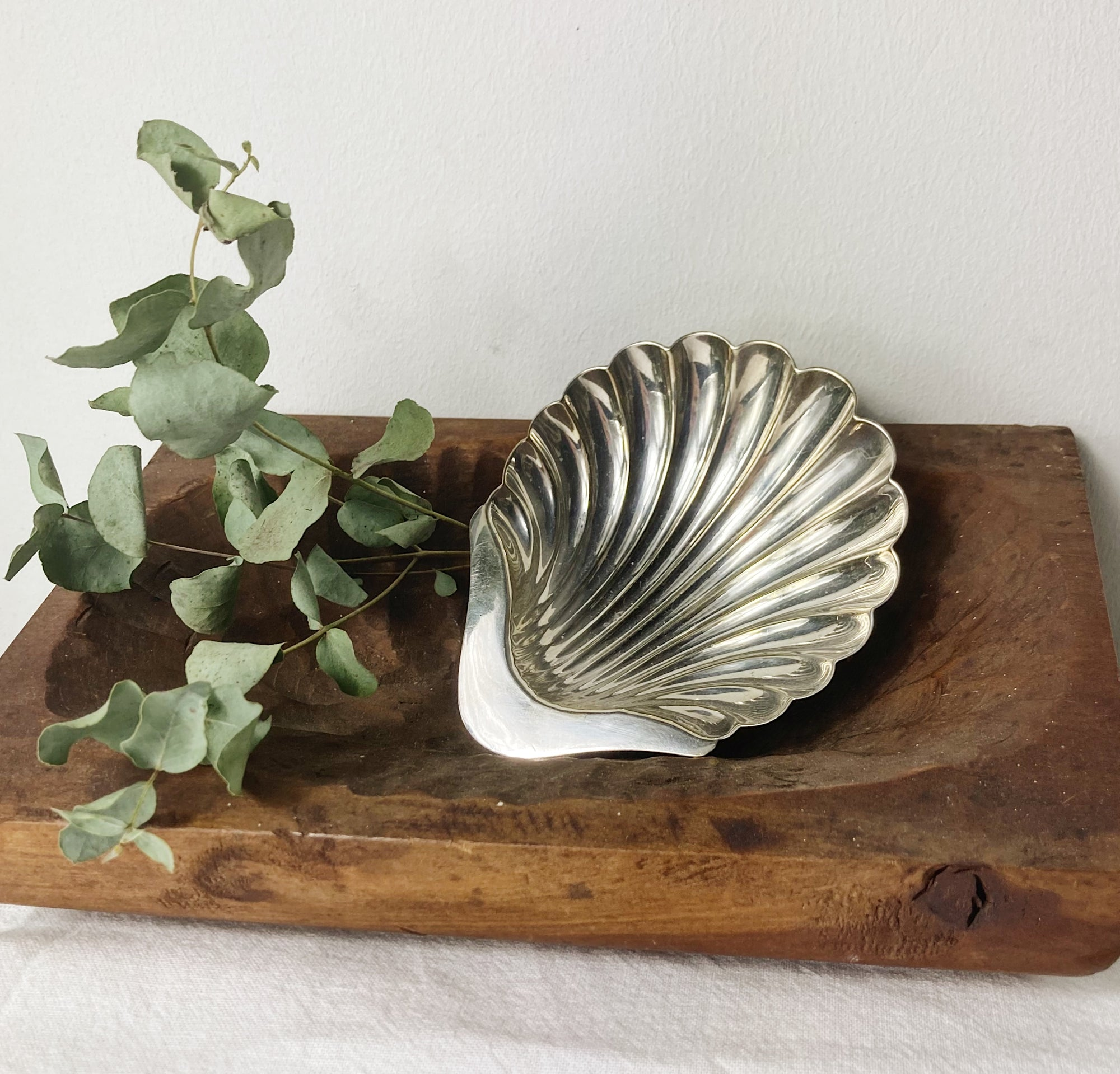 Atkins Brothers Scallop Silver Plated Dish