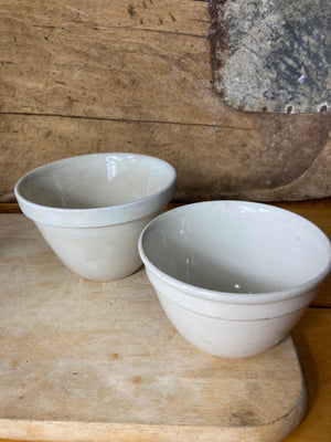 Small Ceramic Mixing Bowls