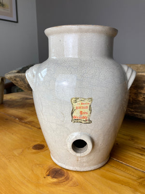 Stunning vinegar confit pitcher