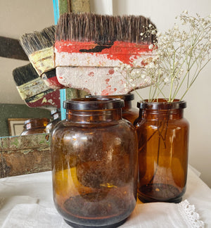 Vintage paintbrush (lots of patina)