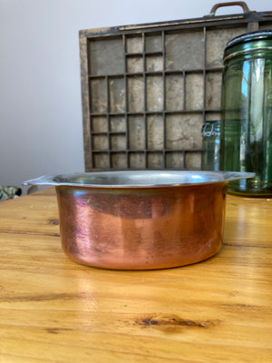 Copper mini serving dish