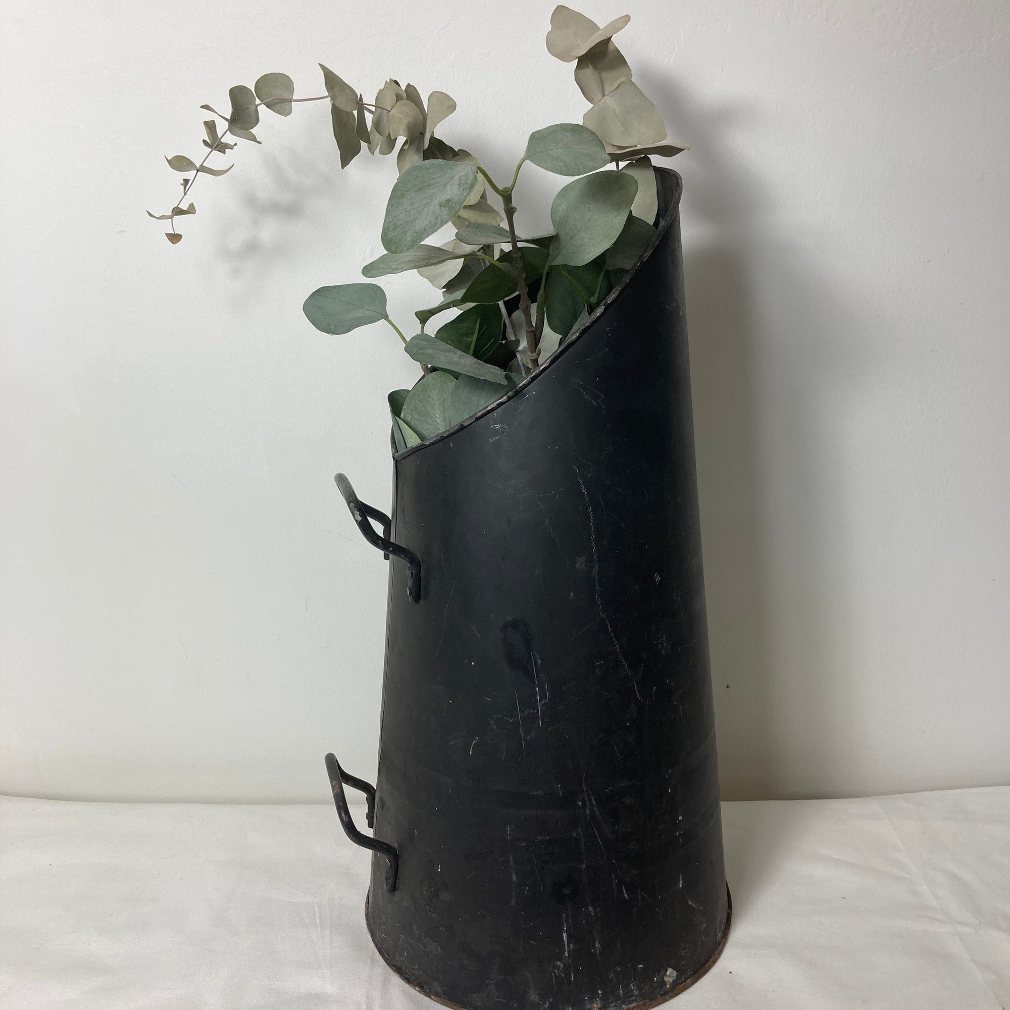 Black rustic pitcher