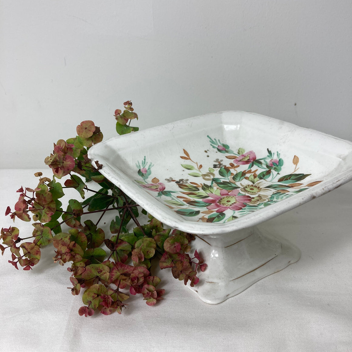 John Maddock semi porcelain fruit bowl