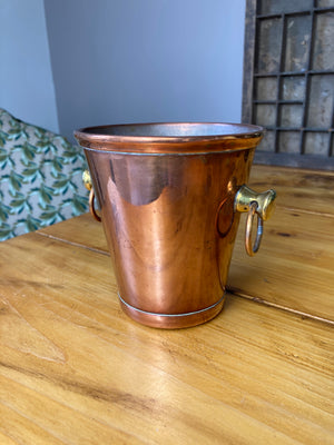 Copper mini bucket