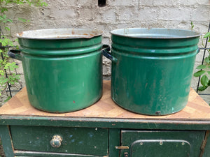 French Cooking Pot Planters
