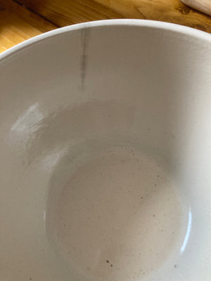 Ceramic mixing or serving bowls
