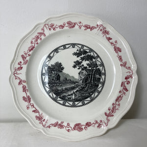 Wedgwood Bewick patterned plate