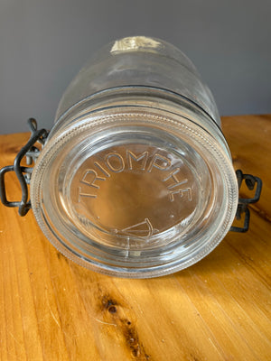 Triomphe Clear Jar