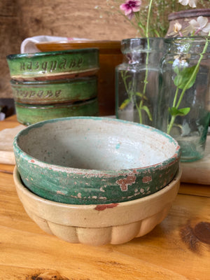 Rustic chippy bowls