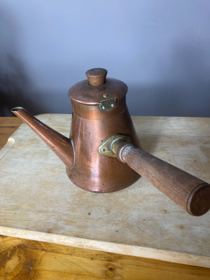 Copper stove pot