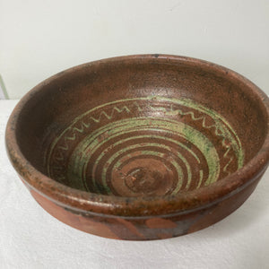 Hungarian terracotta bowl