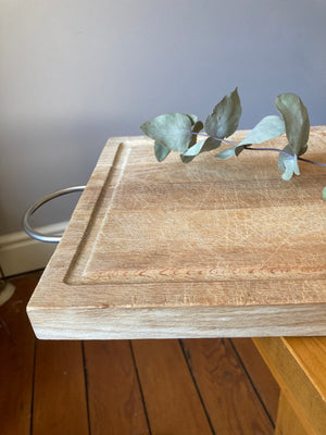 Wooden Chopping Board - With Handle