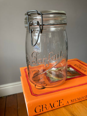 Le Parfait Clear Canning Jar 1 Litre