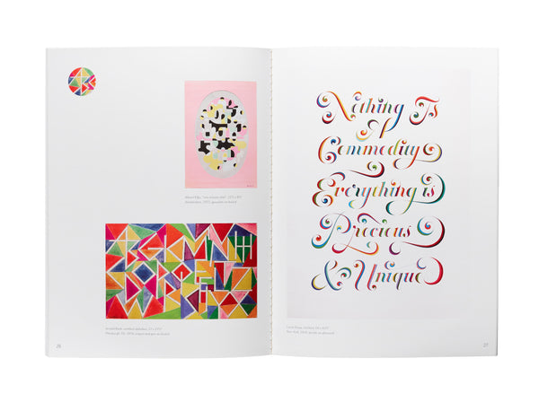 Without Type: The Dynamism of Handmade Letters Exhibition Catalogue