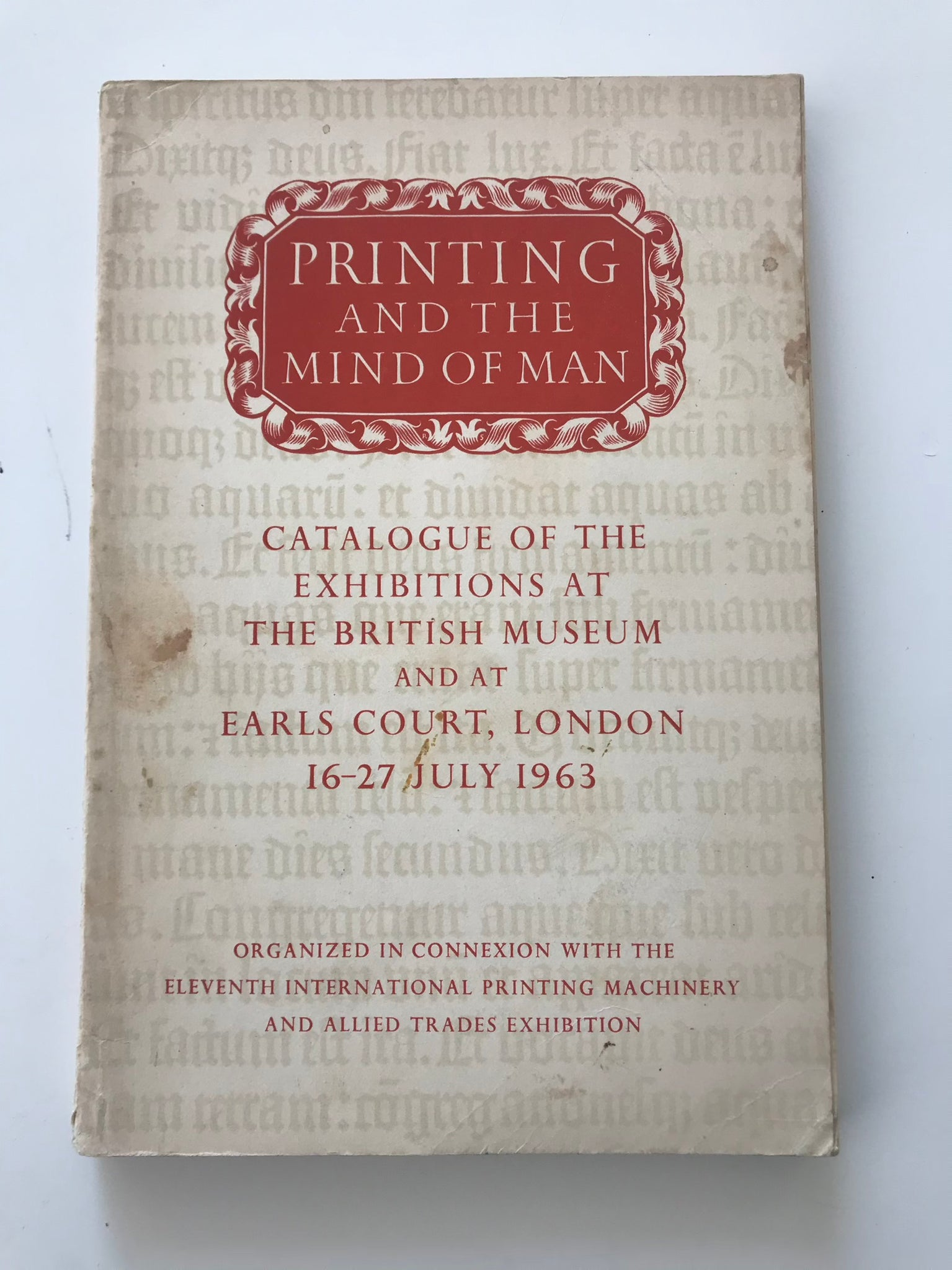 Printing and the Mind of Man (Catalog Brit Museum)