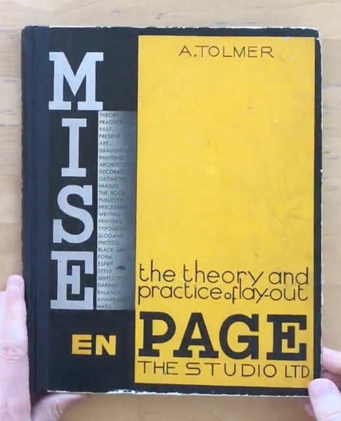 Mise en page: the theory and practice of lay-out