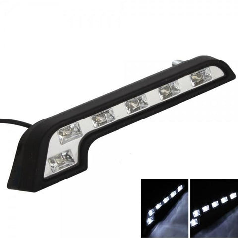 12 LED 7 Fonts Piranhas Car Daytime Running Light (Pair)
