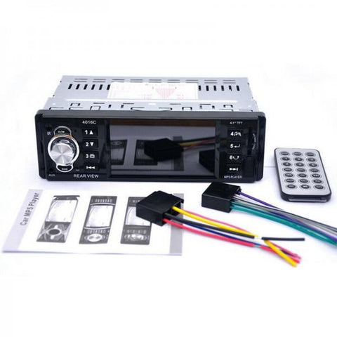 "4.1"" Bluetooth V2.0 Hands-free Call Car MP5 Player Black"