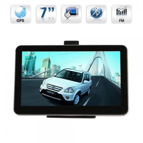 "7"" Touch Screen Windows CE 6.0 OS 4GB GPS Navigator Multimedia Player with FM Transmitter/Bluetooth"