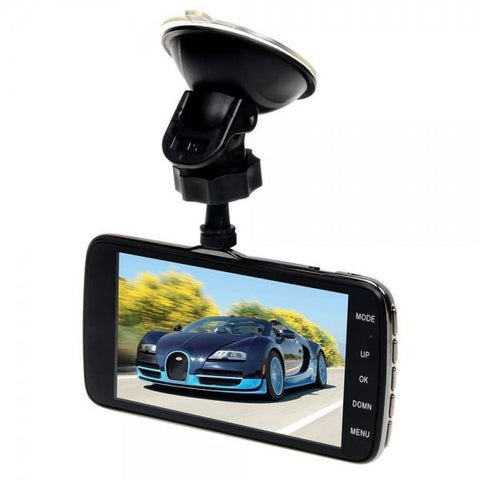 "Car DVR Camera AIT8328P Dash Cam 1080P 4.0"" Video Recorder Registrator G-Sensor Night Vision + Rear Camera Black"