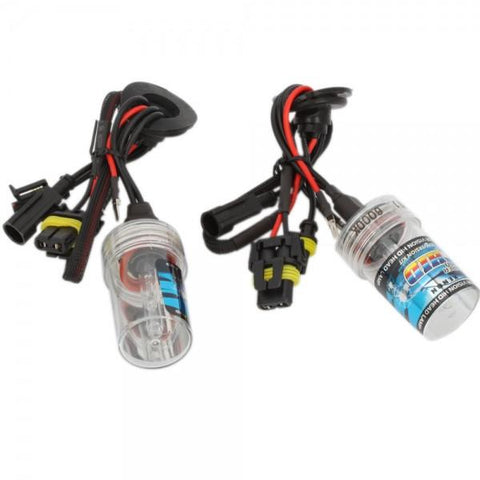 H11 35W 6000K HID Xenon Car Light Bulbs (Pair)