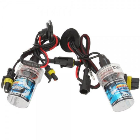 H11 55W 4300K HID Xenon Car Light Bulbs (Pair)