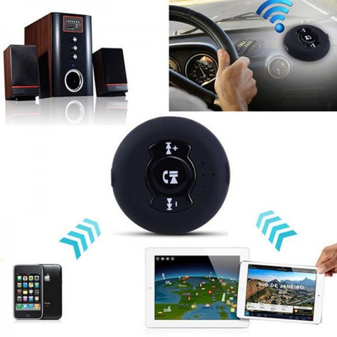H366 Portable Wireless Bluetooth Music Receiver Adapter Car AUX Speaker with Car Charger