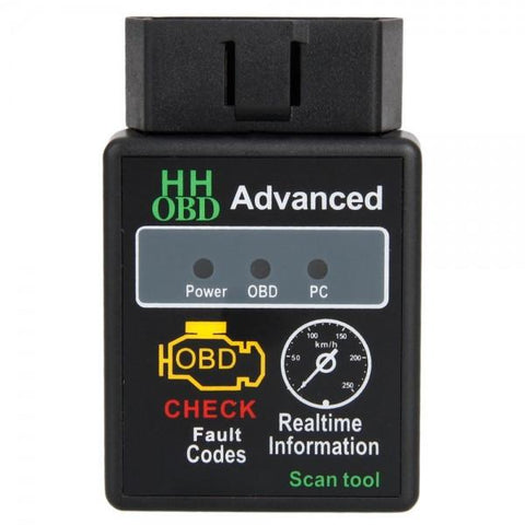 Mini ELM327 HH Interface Bluetooth OBDII CAN Auto Car Diagnostic Scanner Tool