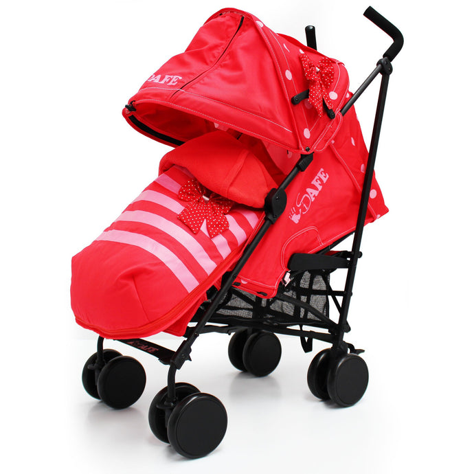 iSafe Special Edition Stroller (Bow Dots)