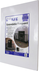 iSafe Extendable Fireguard - Black