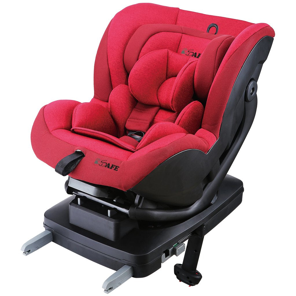 iSafe Car Seat Aurora Group 0+ 1 - Rossa (ISOFIX)