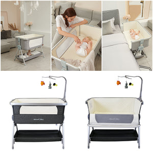 Next To ME Bedside Baby Crib Coo-sleeper (Harmony)