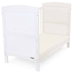 Silver Cross Cot Bed White