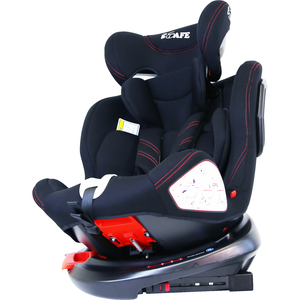 All Stages 360° Rotating Baby Car Seat Carseat Group 0+ 1 2 3 (CS 008) (Black)