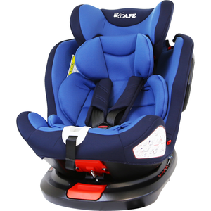 All Stages 360° Rotating Baby Car Seat Carseat Group 0+ 1 2 3 (CS 008) (Blue)