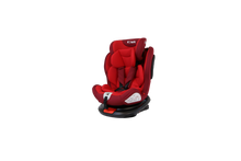 All Stages 360° Rotating Baby Car Seat Carseat Group 0+ 1 2 3 (CS 008) (Red)